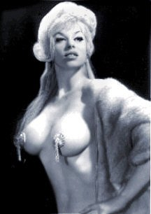 Rita Alexander - The Champagne Girl Striptease egendary artist
